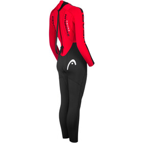 Head ÖTILLÖ Swimrun Rough Suit Women, black/red